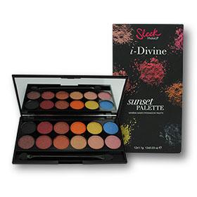 Sleek i-Divine Eye Shadow Palette 12 Colours #568 Sunset