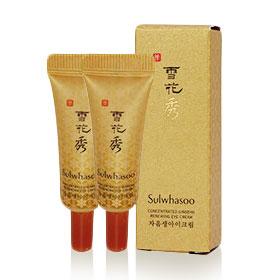 แพ็คคู่ Sulwhasoo Concentrated Ginseng Renewing Eye Cream (3ml x2) (No Box)