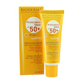 Bioderma Photoderm MAX SPF50+ Tinted Ultra-fluid #Light Colour 40ml
