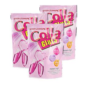 Bodyshape Colla Gluta (10ซอง×3)