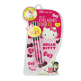 D.U.P Eyelashes Fixer EX Hello Kitty Limited Edition #Clear