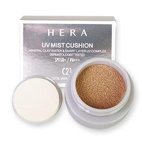 Hera UV Mist Cushion SPF50+/PA+++ #C21 Cool Vanilla Cover 4g