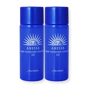 แพ็คคู่ Shiseido Anessa Super Sunscreen Cleansing EX (20ml x2)