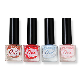 Oni Nail Lacquer Everyday Use Set 4 Colors (#5 7 8 9)