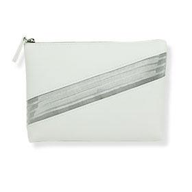 Estee Lauder White Cosmetic Bag