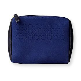 Estee Lauder Makeup Bag #Dark Blue