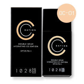1028 Visual Therapy Double Wear Hydrating CC-Dation SPF25 PA++ 35g #OC-01 Light Beige