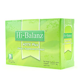 Hi-Balanz KDTX Plus Detox Full System 5ซอง