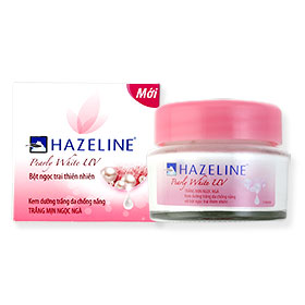 Hazeline Whitening Cream Pearly White UV 45g
