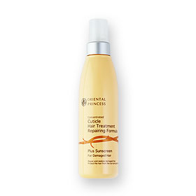 Oriental Princess Concentrated Cuticle Hair Treatment Plus Sunscreen For Damaged Hair 125ml