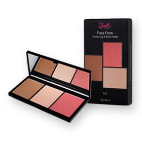 Sleek Makeup Face Form Contouring & Blush Palette 20g #372 Fair