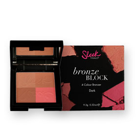 Sleek Makeup Bronze Block 4 Colour Bronzer 9.3g #Dark 099
