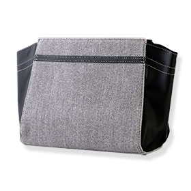 Lancome Trousse/Pouch #Bag Gray(Middle)