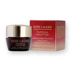 Estee Lauder Nutritious Vitality8 Night Radiant Overnight Creme/Mask 5ml
