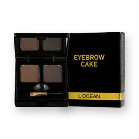 L'Ocean Eyebrow Cake (2gx2) #01 Black Brown