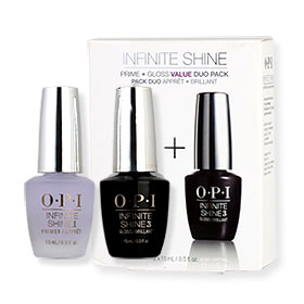OPI Brights Includes Shine Prime+Gloss Value DUO Pack (15mlx2pcs)