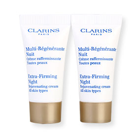 แพ็คคู่ Clarins Extra-Firming Night (5mlx2pcs)