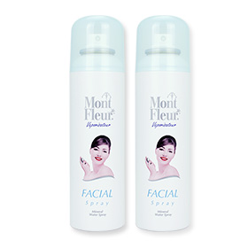 แพ็คคู่ Mont Fleur Mineral Water Facial Spray (150mlx2pcs)
