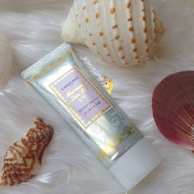 แพ็คคู่ Canmake Mermaid Skin Gel UV SPF50/PA++++ 40gx2_2