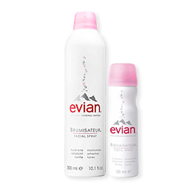 Evian Brumisateur Facial Spray 300ml Free! Brumisateur Facial Spray (50mlx1pcs)