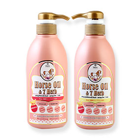 Remi Be inspired Horse Oil & 7-Herb Shamoo 400ml + Conditioner 400ml Set 2 Items