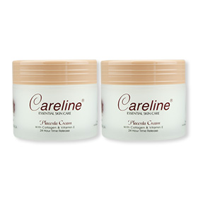 ซื้อ 1 แถม 1 Careline Placenta Cream with Collagen & Vitamin E (100mlx2pcs)