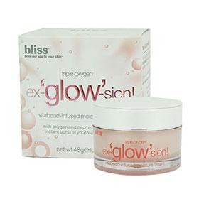 Bliss Triple Oxygen Ex glow Sion Vitabead Infused Moisture Cream 48g