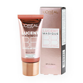 L'Oreal Lucent Magique Miracle BB Cream SPF 21/PA+++  30ml