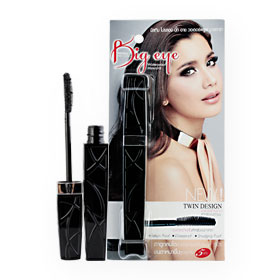 Mistine Pro Long Big Eye Waterproof Mascara 4g #01 Black