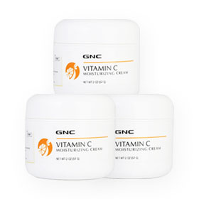GNC Vitamin C Moisturizing Cream Set (57g x 3pcs)