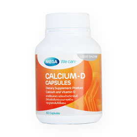 Mega We Care Calcium-D 60capsules