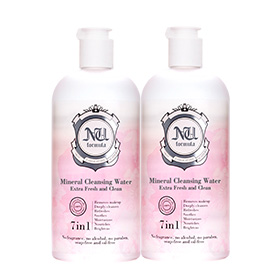 ซื้อ 1 แถม 1 Nu Formula Mineral Cleansing Water  (510ml x 2)