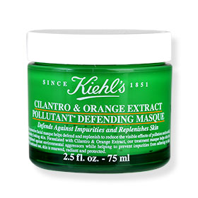 Kiehl's Cilantro & Orange Extract Pollutant Defending Masque 75ml
