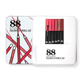 Ver.88 Holiday Lip Pencil Set  (1.1gx6pcs)