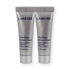 แพ็คคู่ Laneige Time Freeze Intensive Cream (10mlx2)