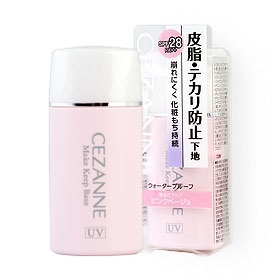 Cezanne Make Keep Base SPF28 PA++ 30ml #Pink Beige