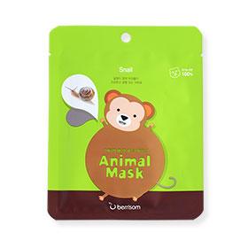 Berrisom Animal Mask Series-Monkey (Snail) 1pcs (สินค้านี้ไม่ร่วมรายการซื้อ2ชิ้นฟรีค่าจัดส่ง)
