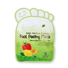 Avec Moi Fruit & Vinegar Foot Peeling Mask 1pcs