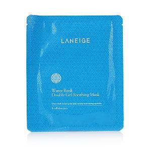 Laneige Water Bank Double Gel Soothing Mask 1pcs(สินค้านี้ไม่ร่วมรายการซื้อ 2 ชิ้นฟรีค่าจัดส่ง)