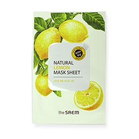 The Saem Natural Lemon Mask Sheet 1pcs