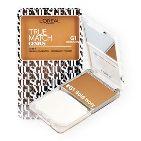 L'Oreal True Match Genius 4-IN-1 SPF26/PA+++ #G1 Gold Ivory