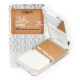 L'Oreal True Match Genius 4-IN-1 SPF26/PA+++ #N1 Nude Ivory