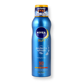 NIVEA Sun Protect&Light Feel Refreshing Invisible Sun Mist SPF50 200ml