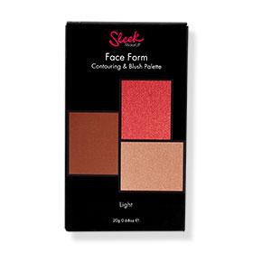 Sleek MakeUP Face Form Contouring and Blush Palette #Light-373