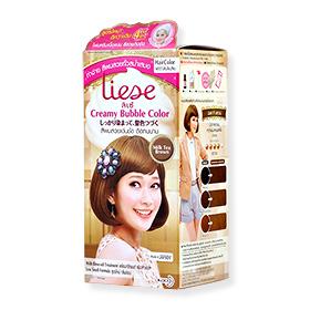 Liese Creamy Bubble Hair Color #Milk Tea Brown