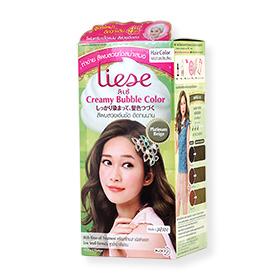 Liese Creamy Bubble Hair Color #Platinum Beige