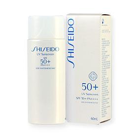 Shiseido UV Sunscreen SPF 50+ PA++++ 60ml #13097