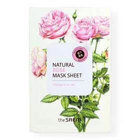 The Saem Natural Rose Mask 1 Sheet