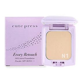 Cute Press Evory Retouch Oil Control Foundation Powder SPF 30 PA+++ #N1
