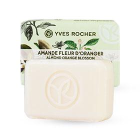 Yves Rocher Relaxing Soap 80g #Almond Orange Blossom